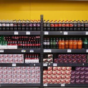Sodas are displayed at a Walmart store in Secaucus, New Jersey, November 11, 2015. REUTERS/Lucas Jackson - RTS6KPN