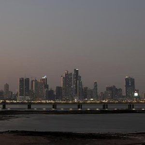 A general view of the skyline of Panama City, Panama April 4, 2016. Panama City has found itself the centre of global media attention following a data leak scandal. REUTERS/Carlos Jasso