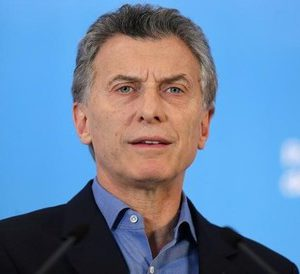 Argentine President Mauricio Macri speaks during news conference at the Olivos presidential residence in Buenos Aires, Argentina, September 28, 2016. REUTERS/Marcos Brindicci