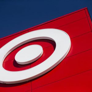 A Target logo is seen during the going-out-of-business sale at Target Canada in Toronto, February 5, 2015. Target Corp is closing its stores in Canada after the insolvent retailer came to an agreement with its landlords to start liquidation. REUTERS/Mark Blinch (CANADA - Tags: BUSINESS)