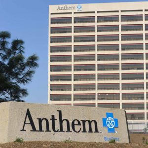 The office building of health insurer Anthem is seen in Los Angeles, California February 5, 2015. Connecticut and New York prosecutors reached out to No. 2 U.S. health insurer Anthem Inc on Thursday, a day after the firm said it was a victim of a cyberattack that compromised data of tens of millions of people.  REUTERS/Gus Ruelas (UNITED STATES - Tags: BUSINESS CRIME LAW HEALTH)