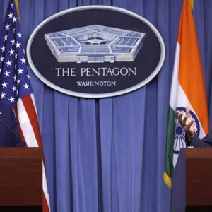 India Becomes a Major Defense Partner to the U.S.
