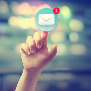 Use email newsletters to nurture and inspire