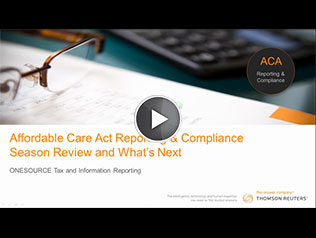 Affordable Care Act Reporting & Compliance Season Review and What's Next